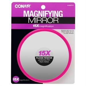 Conair 15x Compact Mirror 1pk., Glass