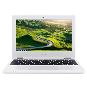 Acer Chromebook 11, 11.6 HD, Intel Celeron N2840, 2GB DDR3L, 16GB Storage (CB3-131-C3KD), White