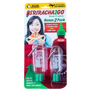 Portable Food Storage Set - Sriracha2Go, Clear