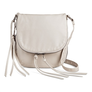 Cross Body Bags Mossimo Supply Co Lt Grey Solid Magnetic Closure, Women's, Light Grey