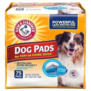 Arm & Hammer Stay at Home Pads for Adult Dogs 75 ct