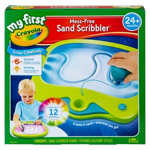 My First Crayola Mess-Free Sand Scribbler