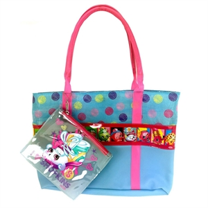 Girls' Shopkins Swim Tote - Blue One Size, Girl's
