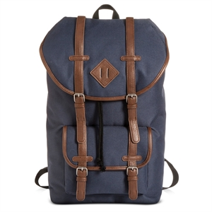 Men's Utility Backpack Navy One Size - Merona, Blue