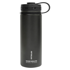 Fifty/Fifty 40 oz Bottle With Flip Top Lid - Black