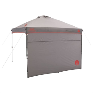 Coleman Instant Canopy with Sunwall 10' x 10', Gry