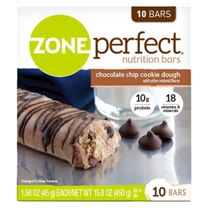 ZonePerfect Cookie Dough Nutrition Bars 10 ct