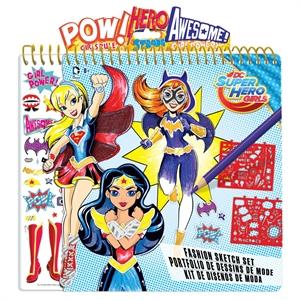 DC Super Hero Girl Sketch Portfolio
