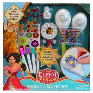 Disney Elena of Avalor Design A Music Set