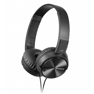 Sony Noise Canceling Headphones  (MDRZX110NC), Black