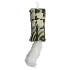 Cat Toy Plaid Kicker (1 count) - Boots & Barkley, Multi-Colored