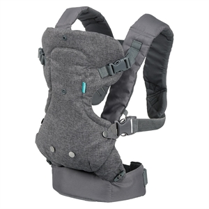 Infantino Flip Advanced 4-in-1 Carrier, Gray