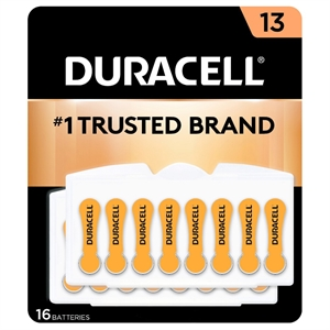 Duracell Easy tab Hearing Aid Size 13 - 16 Count