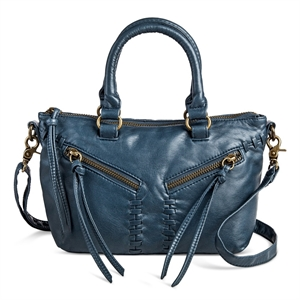 Women's Small Satchel Handbag - Mossimo Supply Co., Blue