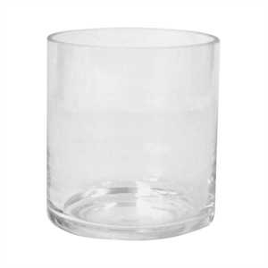 Glass Candle Holder Small Clear - Threshold