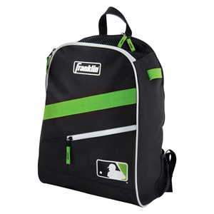 Franklin 19.5 Sports Backpack - Black/Green, Multi-Colored