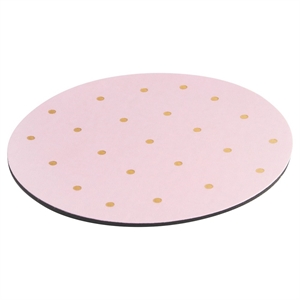 Mousepad, Pink with Gold Dots - Threshold, Multi-Colored