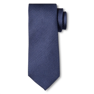 Men's Tie Navy (Blue) Pindot - Merona
