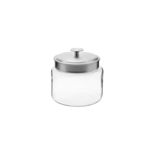 Montana Mini Glass Jar with Lid (64oz), Clear