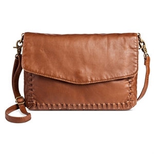 Cross Body Bags Mossimo Supply Co Camel Solid Magnetic Closure, Women's