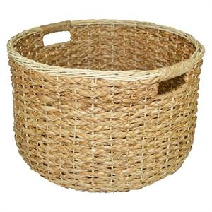 Round Seagrass Wicker Decorative Basket - Threshold