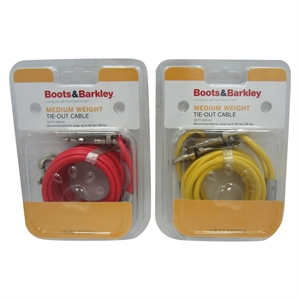 Weight Tie-Out Cable 12 ft M - Boots & Barkley, Multi-Colored