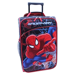 Spiderman Luggage with Eva Mold, Multi-Colored