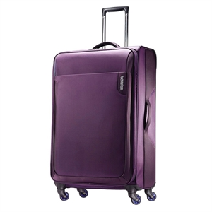 American Tourister Applite 28 Spinner Luggage - Purple, Purple/Blue