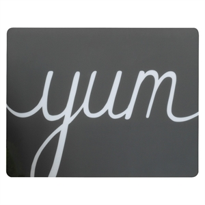 Placemat Polypro Yum - Room Essentials, Earth Gray