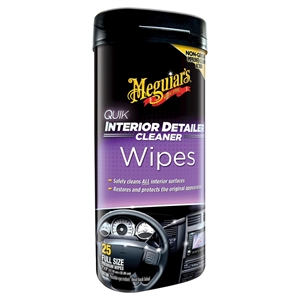 Meguiars Interior Detailer Wipes 25ct