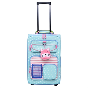 Crckt Upright Suitcase, Pink