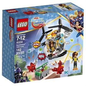 Lego Super Hero Girls' Bumblebee Helicopter 41234
