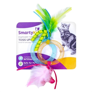 Smarty Kat Toss Ups Pet Toy, Multi-Colored