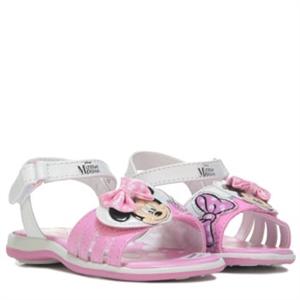 Minnie Mouse Minnie Sandal Toddler/Preschool White/Pink