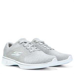 Skechers GOwalk 4 Cherish EZ Fit Wide Slip On Sneaker Greywhite