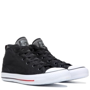Converse Chuck Taylor All Star Syde Street Mid Top Sneaker Black/White/Red