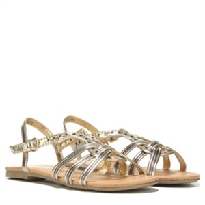 Report Cadence Sandal Pre/Grade School Gold Multi