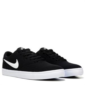 Nike Nike SB Check Solar Canvas Skate Shoe Black/White