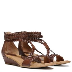 B.O.C. Klara Wedge Sandal Saddle Brown