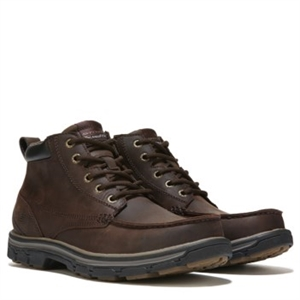 Skechers Barillo Lace Up Boot Brown