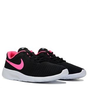 Nike Tanjun Running Shoe Grade School Black/Pink