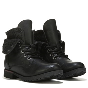 ROCK & CANDY Giggle Lace Up Boot Pre/Grade School Black