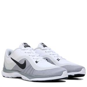 Nike Flex Trainer 6 Training Shoe White/Platium/Grey