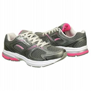 L.A. Gear Ava Running Shoe Grey/Pink