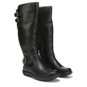 B.O.C. Razelm Wide Calf Riding Boot Black