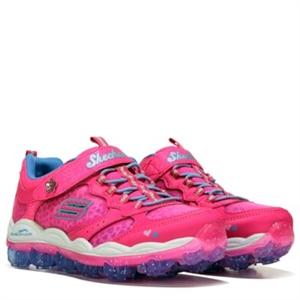 Skechers Skech Air Stardust Galaxy Sneaker Pre/Grade School Neon Pink/Blue