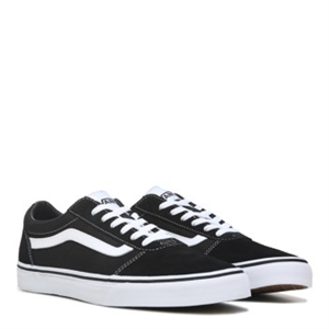 Vans Ward Low Top Sneaker Black/White