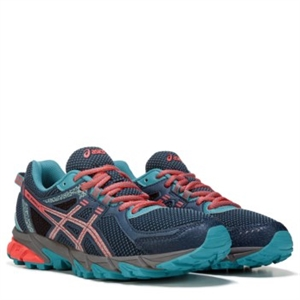 ASICS GEL-Sonoma 2 Trail Running Shoe Navy/Coral