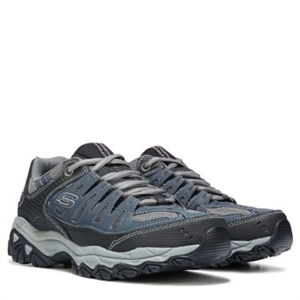 Skechers Energy After Burn M-Fit Memory Foam Sneaker Navy/Grey