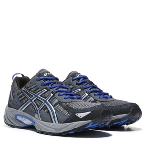 ASICS GEL-Venture 5 X-Wide Trail Running Shoe Silver/Grey/Royal